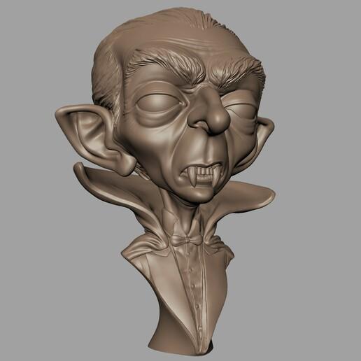 Renders005.jpg Download STL file Dracula • 3D print model, monstersbarcelona