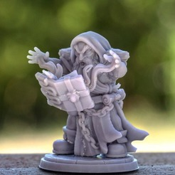 0bfc33c4-096b-47af-8e37-fd848c9ee4d2.jpg Download STL file Kamli The Summoner - Presupported • 3D printable model, MiniaturesOfMadness