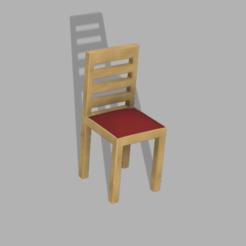 Silla en color.png Télécharger fichier GCODE gratuit Chaise miniature • Plan à imprimer en 3D, JoWrTeR