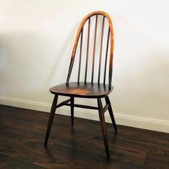 honeyhillantiques_119966174_32799721.jpg Télécharger fichier STL Chaise quaker Ercol (chaise Dollhouse) • Plan pour impression 3D, bsavas