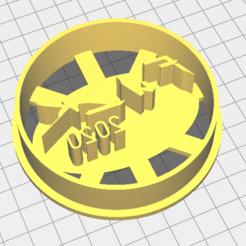 cutter1.png Télécharger fichier STL Cyberpunk Fuck 2020 Cookie Cutter • Modèle pour imprimante 3D, xmus_jackson