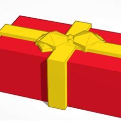xmas present pic.png Download free STL file 3D Christmas Present - Free Download! • 3D printer design, mwalker