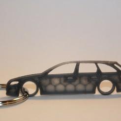 a4 b8 2.jpg Download STL file Audi A4 B8 Keychain • Template to 3D print, martinkoovit