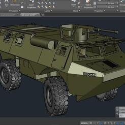 VAB.jpg Télécharger fichier STL VAB Renault 1/10 • Design pour imprimante 3D, sebastiensalerno