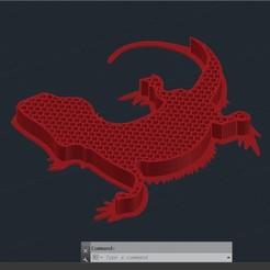 POGONA.jpg Télécharger fichier STL gratuit Grille d'aération terrarium • Objet à imprimer en 3D, sebastiensalerno