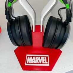 IMG_1683.JPG Download STL file Marvel stand  • 3D printing object, Smart3DPT