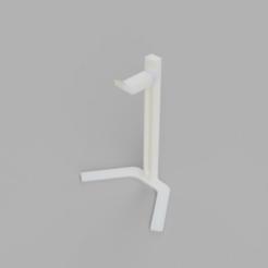 HeadphoneStand.png Download STL file Headphone Stand • 3D printer design, bhdmanfuacturing