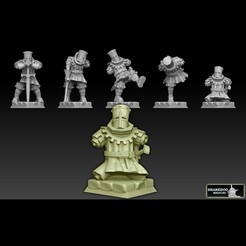 blackknightsfrontlogold2cults.jpg Download STL file Black Knight • 3D printing model, SharedogMiniatures