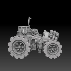panzerbuggy CG render side.jpg Download STL file Armored Vehicle Panzer Buggy • 3D printable design, SharedogMiniatures