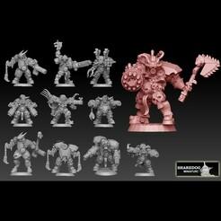 destroyers frontpage cults.jpg Download STL file Destroyer Megapack • 3D printer design, SharedogMiniatures