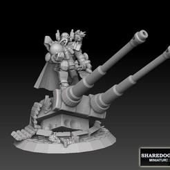 astrodukemoustachelogo.jpg Download STL file Astroknight Duke  • 3D printable model, SharedogMiniatures