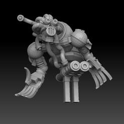 light nautiloid horror1.jpg Download STL file Nautiloid Horror Light Carapace • 3D printing object, SharedogMiniatures