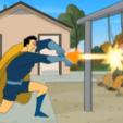 hero.png Télécharger fichier OBJ Captain Hero - Drawn Together (scène de Magnéto) • Plan pour imprimante 3D, sendlovestore