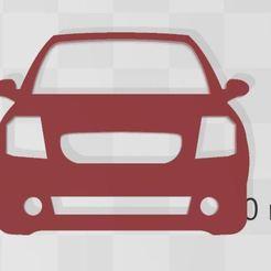 C2.JPG Descargar archivo STL Llavero de Citroën C2 • Modelo para la impresión en 3D, Swazy