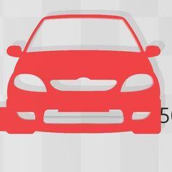 Saxo keyring.JPG Descargar archivo STL Llavero de Citroën Saxo • Diseño imprimible en 3D, Swazy