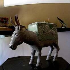 photo.jpg Télécharger fichier STL gratuit scan de l'âne • Plan pour imprimante 3D, nickdisney