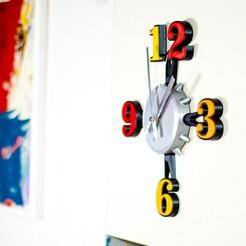 _MG_2624.jpg Download STL file COTTINTEMPO | Wall clock • 3D printable object, Tulofai