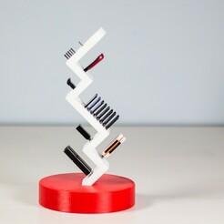 _MG_2756.jpg Download STL file ViaMeda | Memory card and USB pen holder • 3D printer object, Tulofai