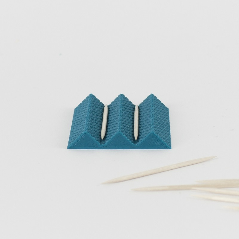 toothpick_holder1.jpg Download free STL file Toothpick holder - TABLE7 COLLECTION • 3D printable model, UAUproject