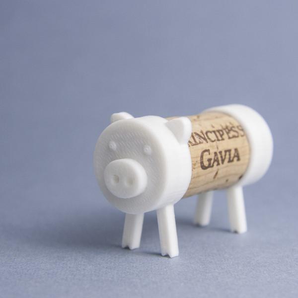 IMG_9522_kopia.jpg Download free STL file Cork Pals: The Pig • 3D print template, UAUproject