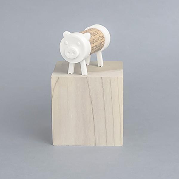Cochon.jpg Download free STL file Cork Pals: The Pig • 3D print template, UAUproject