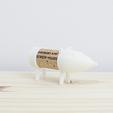 Free Cork Pals: Corky The Dog 3D model, UAUproject