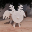 Free 3d print files Cork Pals: Frankly my Deer, UAUproject