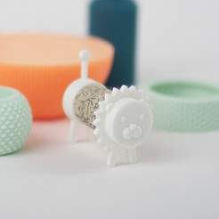 Free 3d printer files CORK PALS: KING LION, UAUproject