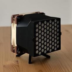 IMG_1820_2-min.jpg Télécharger fichier STL gratuit HEPA + Charcoal Filter - Noctua 120mm • Modèle pour impression 3D, SweetPrinting