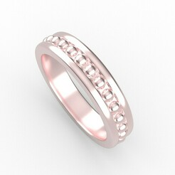 bolas.jpg Download STL file ring • 3D printing template, Oscar_Designer