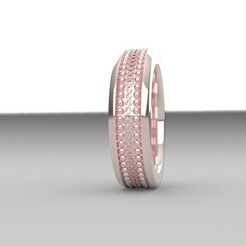 un diseño.jpg Download STL file ring • 3D printing template, Oscar_Designer