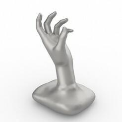 mananan.jpg Download STL file hand • 3D printer template, Oscar_Designer