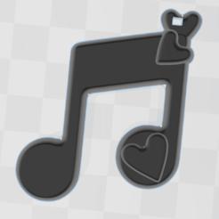 3D Builder 19_1_2021 9_04_27 μμ (2).png Télécharger fichier STL gratuit bijoux de musique d'amour • Modèle imprimable en 3D, moedivm