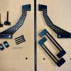 1.jpeg Download STL file Onefinity / Suckit Dust Shoe Bracket for Openbuilds LEAD 1515 CNC • Model to 3D print, markmcleod