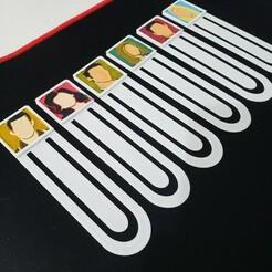 20201217_092807.jpg Télécharger fichier STL Signets Amis • Design à imprimer en 3D, francomuniz2