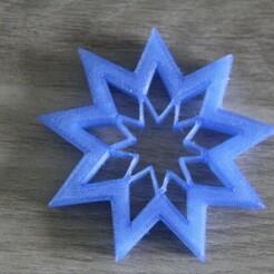IMG_5100.JPG Download STL file cake cutter - star • 3D print template, EFAUVET