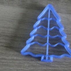 IMG_5104.JPG Download STL file cake cutter - fir tree • 3D printable template, EFAUVET