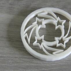 IMG_5092.JPG Download STL file cake cutters -mandala stars • 3D printable object, EFAUVET