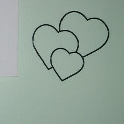 P1070055.JPG Télécharger fichier STL décoration murale cœurs • Plan imprimable en 3D, EFAUVET