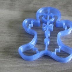 IMG_5097.JPG Download STL file cake cutter - gingerbread mister man • Template to 3D print, EFAUVET
