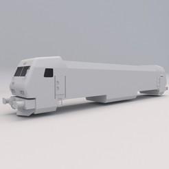 Siemens Electric Locomotive 1.jpg Download free STL file Siemens Electric Locomotive PRINTABLE Train 3D Digital STL File • Object to 3D print, Alpha3D_Digital