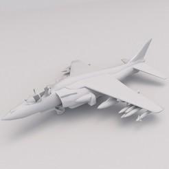 Jet Fighter 1.jpg Download free STL file Jet Fighter PRINTABLE Airplane 3D Digital STL File • 3D printer model, Alpha3D_Digital