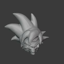 4.jpg Télécharger fichier STL Crâne Son Goku • Modèle à imprimer en 3D, Artek