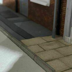 137227416_1696849293809742_124314686397808573_n.jpg Télécharger fichier STL KERBSTONES AVEC SUPPORT ROUTIER Bâtiment du chemin de fer miniature à l'échelle O de 7 mm • Design à imprimer en 3D, squawk