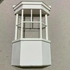 Bay window.jpg Télécharger fichier OBJ Modélisme ferroviaire à fenêtre en baie à l'échelle 7 mm et à l'échelle O • Modèle à imprimer en 3D, squawk