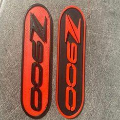 z900 key holder.jpg Download OBJ file kawasaki z900 customizable keychain • 3D printing object, anthony__blondel