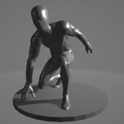 Sin título.png Download free STL file Spiderman • 3D printer template, ARTCRAFT3D