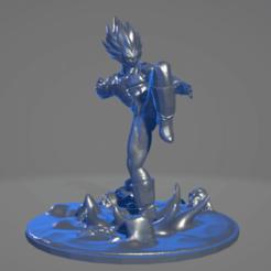 Sin título.png Télécharger fichier STL gratuit Vegeta • Objet pour impression 3D, ARTCRAFT3D