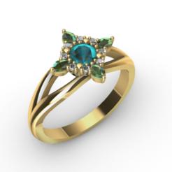 Anello Halo 1.png Télécharger fichier OBJ Modèle d'impression 3D d'un anneau de halo • Plan imprimable en 3D, Giadadilu
