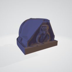 mandalorian pendant 1.png Download OBJ file Mandalorian Inspired pendant star wars • 3D printing object, Giadadilu